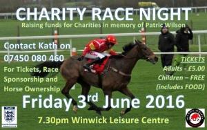 Race Night Flyer v2.0