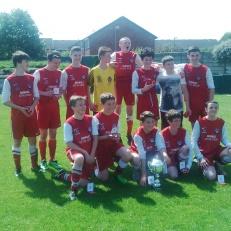 U16 Wolves Cup Finalists 2016